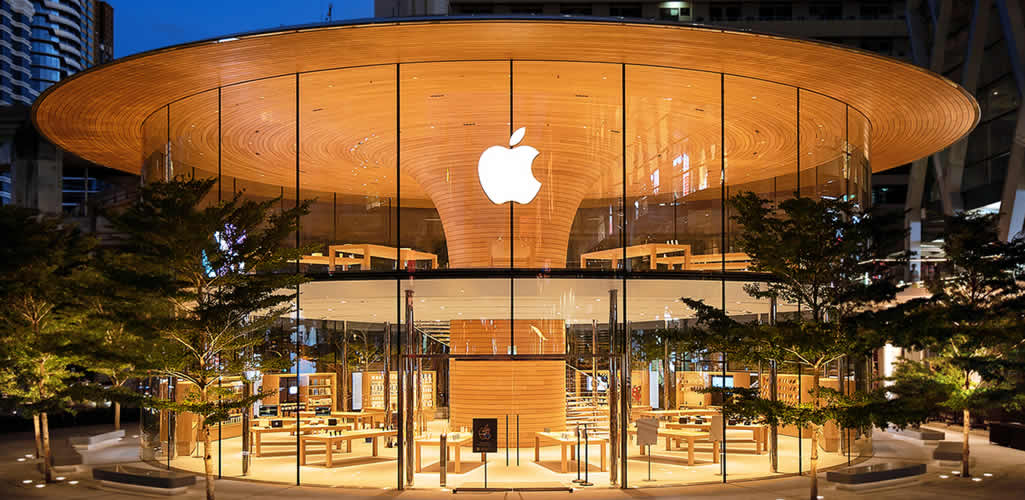 Apple Central World Bangkok por Foster + Partners