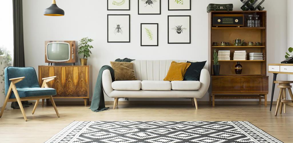 10 razones para incluir una alfombra o tapete en la decoración de tu hogar