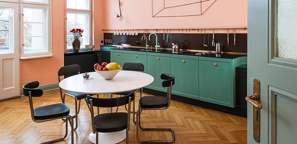 Tendencias: Cocinas coloridas