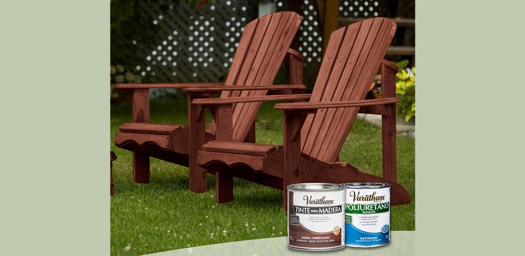 Rust Oleum: Cuida, protege y renueva tus muebles de exterior.