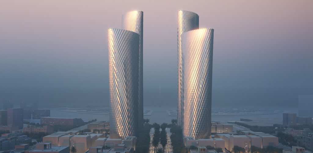 Foster + Partners presenta las Torres Lusail