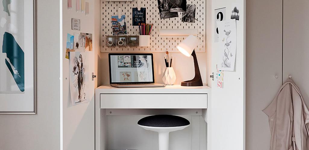 Cloffice, una gran idea para separar vida y trabajo si realizas home office