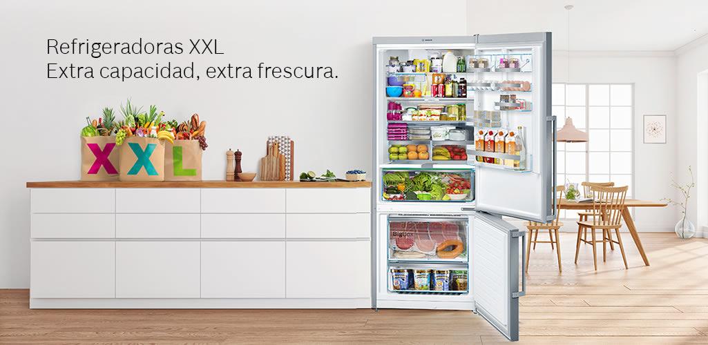 Refrigeradoras XXL: Mayor capacidad para almacenar todas las compras