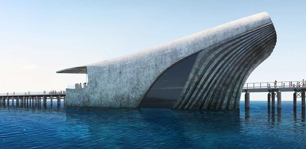 Un observatorio marino inspirado en una ballena
