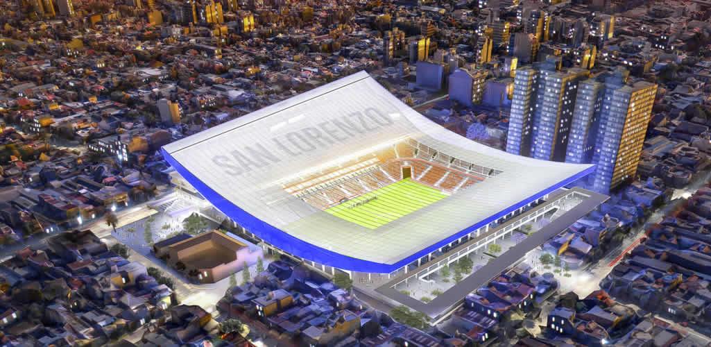 IDOM presenta el nuevo Estadio de San Lorenzo en Argentina