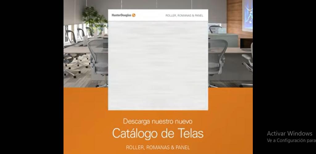 Nueva Colección de Telas para Cortinas Roller, Panel y Romanas- Hunter Douglas