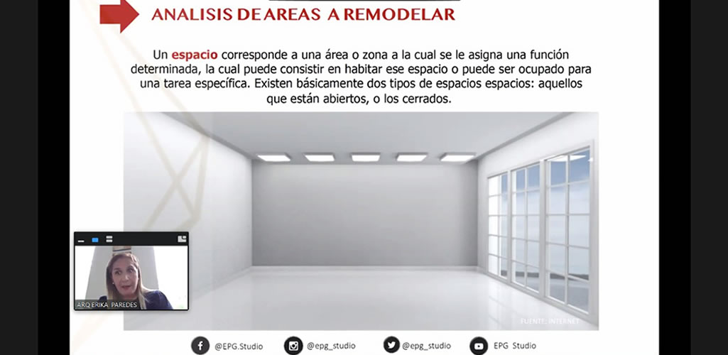 """Dossier presentó curso online: """"Remodelaciones y supervisión de obra"""""""