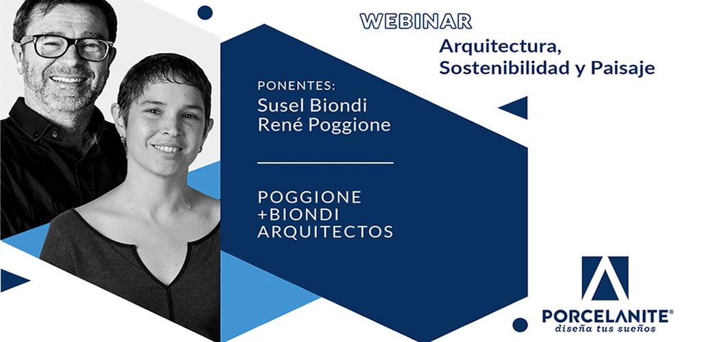 Porcelanite forma alianza con la Asociación de Estudios de Arquitectura para lanzar webinars con reconocidos arquitectos