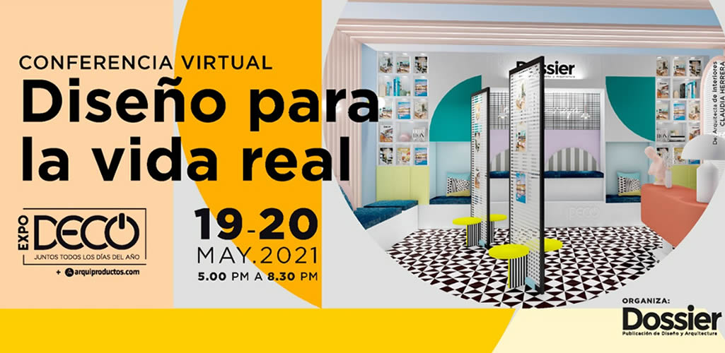 """Dossier presenta un ciclo de conferencias virtuales: """"Diseño para la vida real"""""""