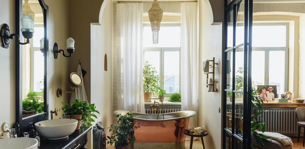 Las 7 plantas ideales para decorar tu baño y dónde colocarlas