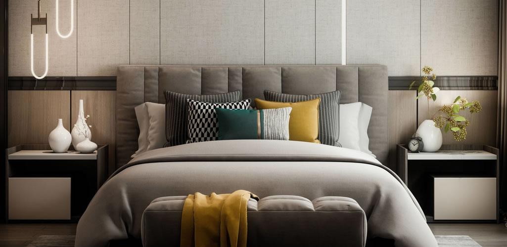 8 originales ideas para decorar el pie de cama en tu dormitorio