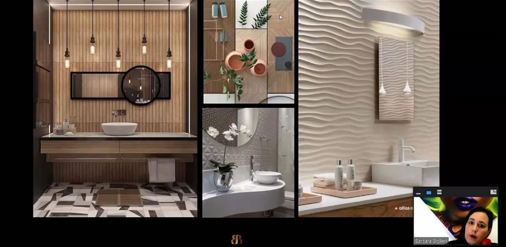 """Dossier presentó el curso online: """"Diseño de baños, materiales y costos"""""""