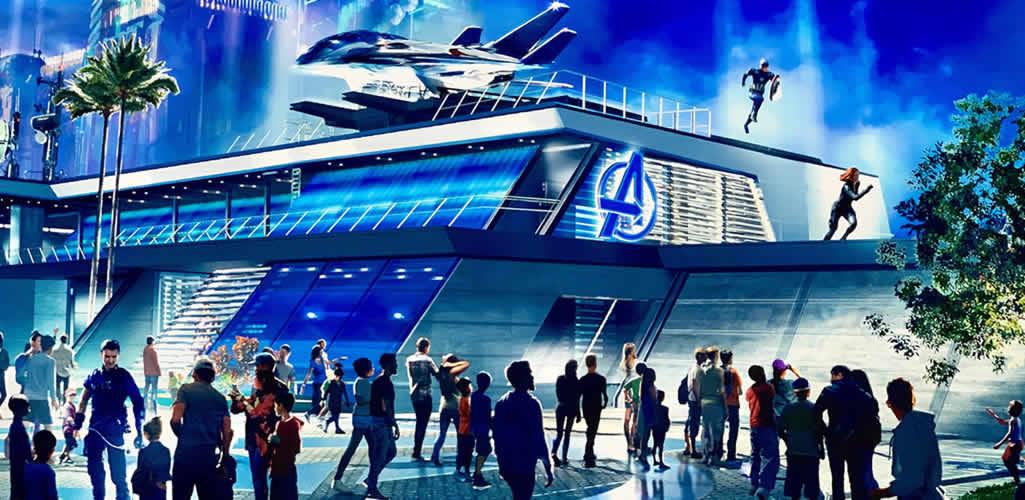Descubre el nuevo parque de Avengers en Disney California Adventure Park