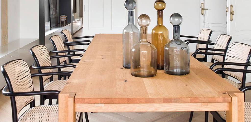 Inspiración: comedores de madera cálidos y acogedores