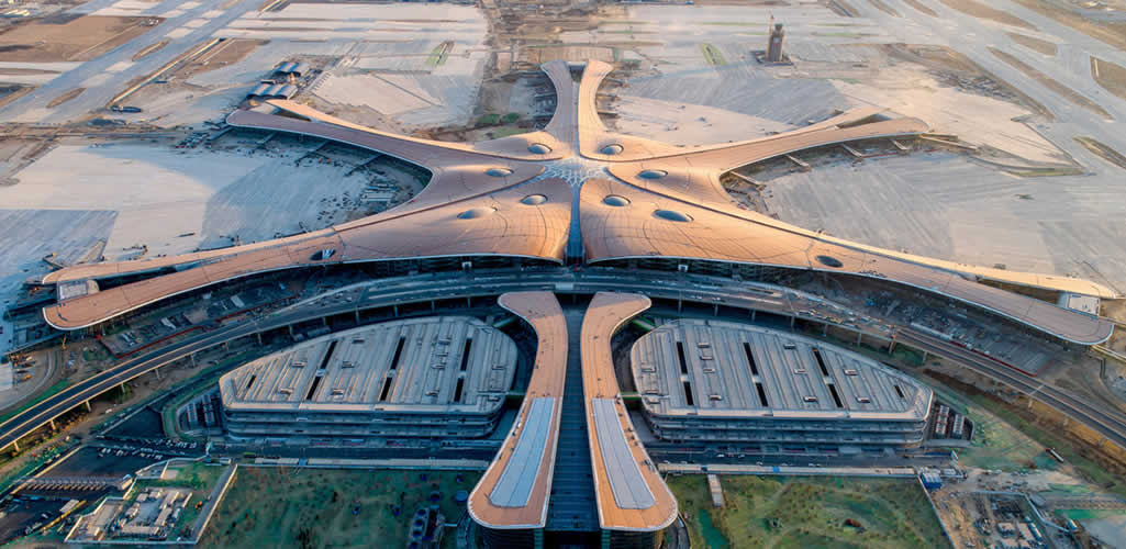 Así es el nuevo Aeropuerto Internacional de Beijing diseñado por Zaha Hadid