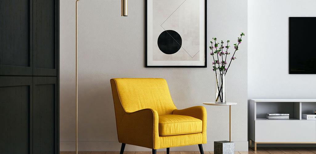 Pared estrella: el secreto para que tu hogar tenga un acento decorativo