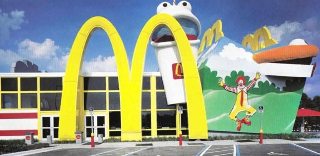 El diseño de una comida feliz: Lo que nos dice McDonald's sobre experimentación arquitectónica