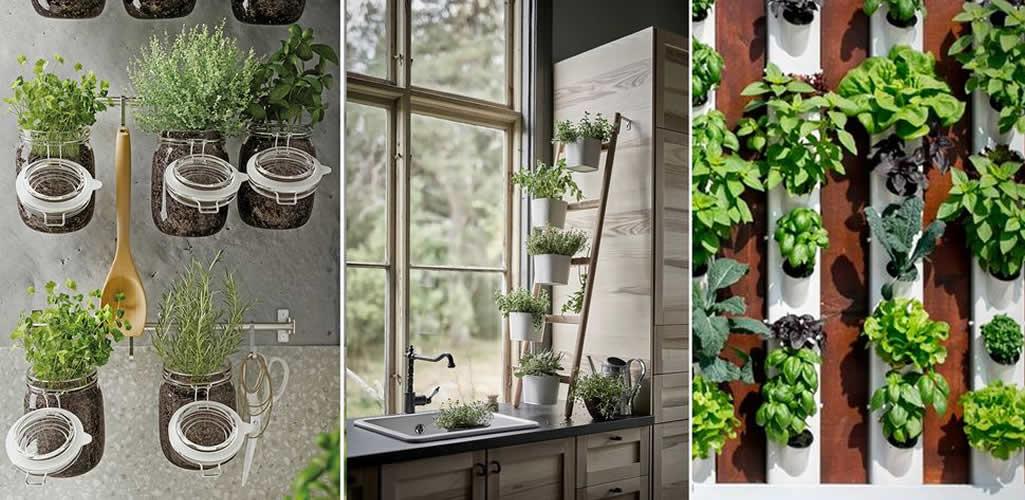 Ideas y consejos para tener un huerto urbano vertical en casa