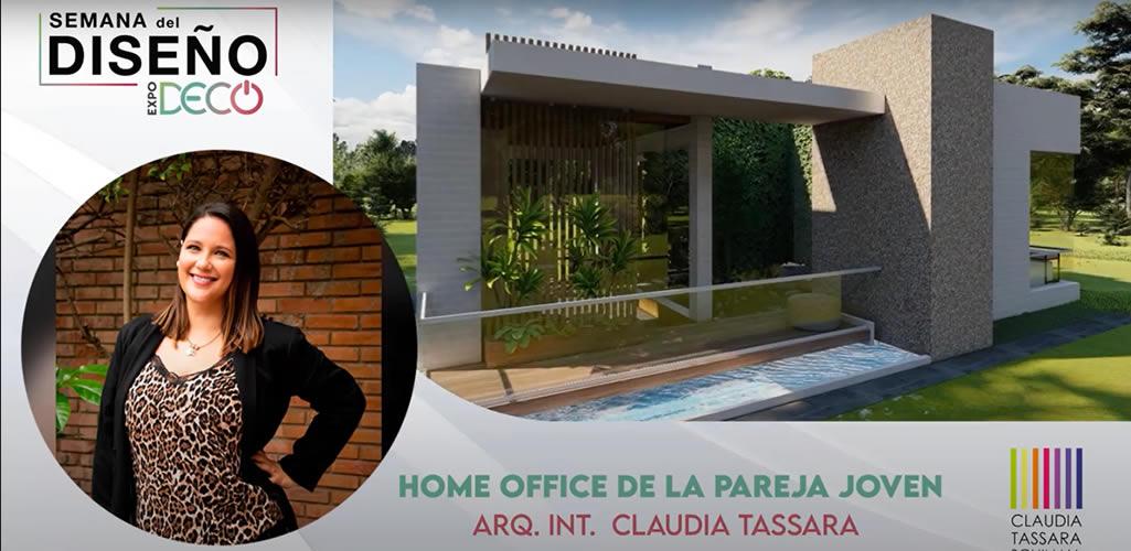 """Claudia Tassara presentará el salón """"HOME OFFICE DE LA PAREJA JOVEN"""" en #LaSemanaDelDiseño"""