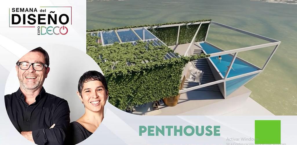 """Poggione + Biondi Arquitectos presentarán el salón """" PENTHOUSE"""" en #LaSemanaDelDiseño"""