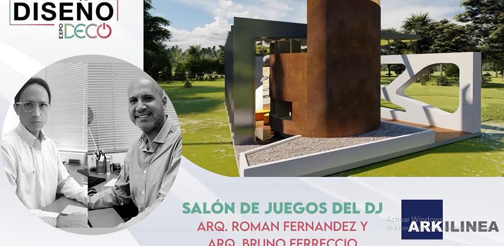"""ARKLINEA presentará el """"Salón de juegos del Dj """" en #LaSemanaDelDiseño"""