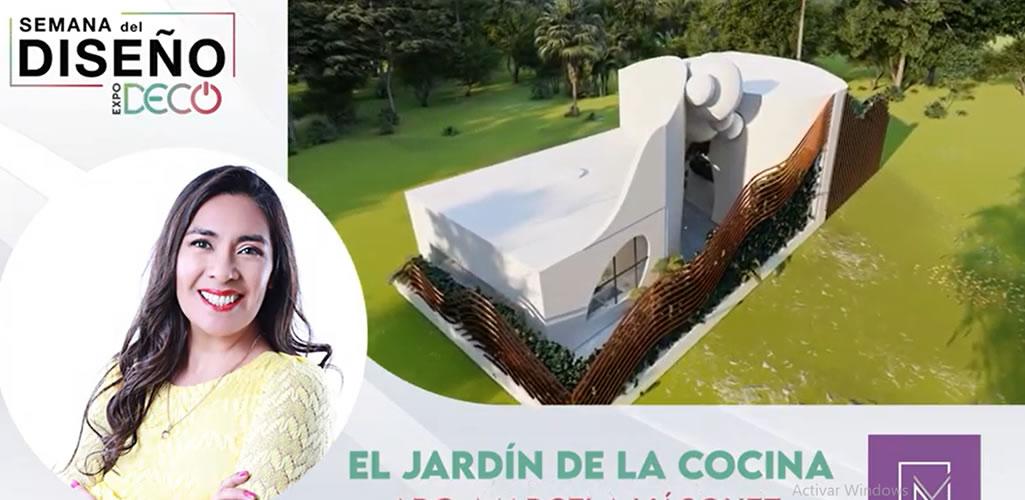 """Marcela Vásquez presenta """"El jardín de la cocina """" en  #LaSemanaDelDiseño"""