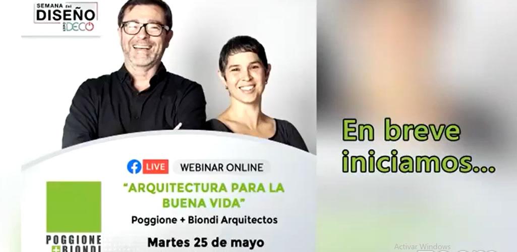 Webinar: Arquitectura para la buena vida