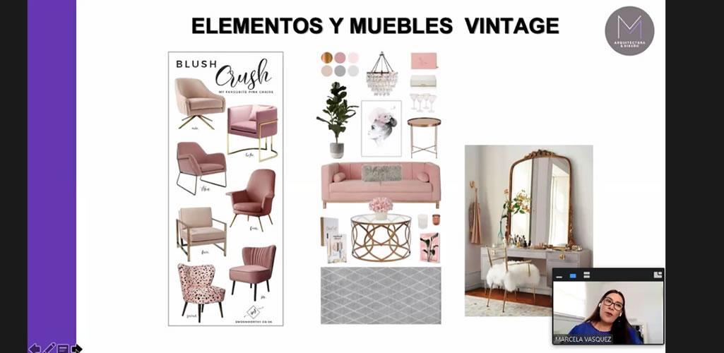 """Dossier presentó curso online: """"Diseño de muebles, materiales y costos"""""""