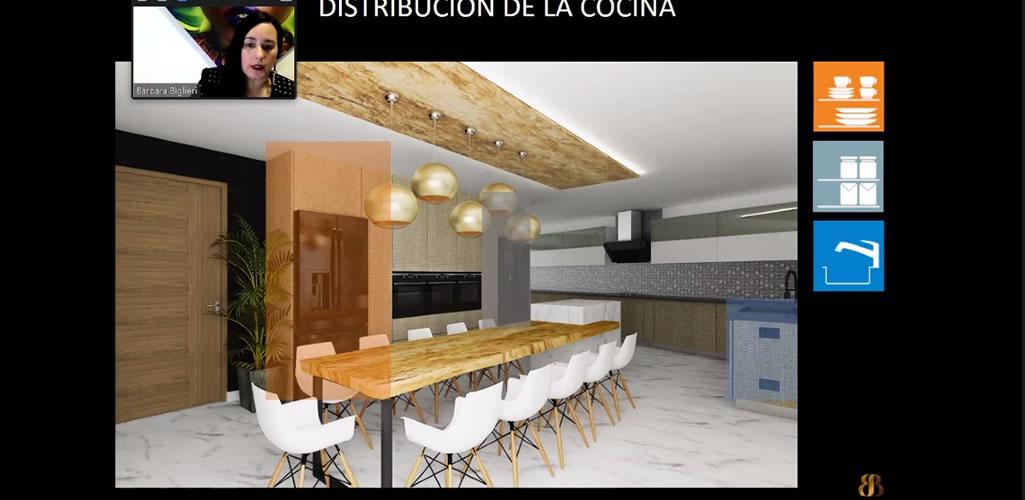 """Dossier presentó curso online: """"Diseño de Cocinas"""""""