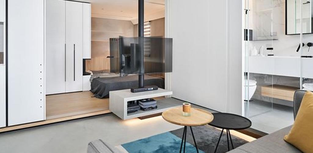 Streno Design Studio: Soluciones a espacios pequeños