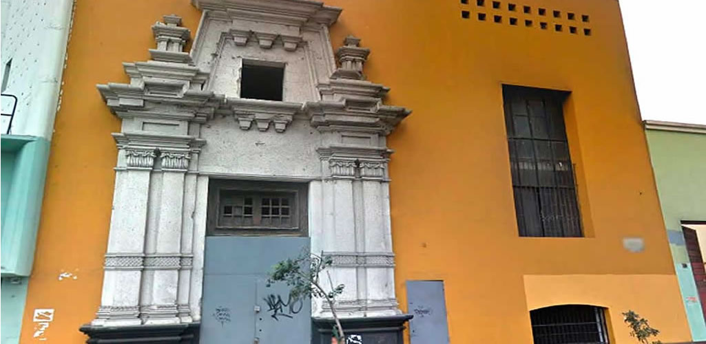 Colegio de Arquitectos del Perú remodelará y pondrá en uso su Primera Sede Institucional ubicada en el Centro de Lima