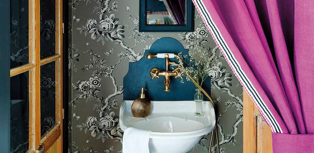 Baños pequeños con grandes ideas de decoración