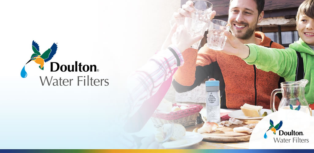 Doulton: Tener agua saludable, sin restricciones, es la base del bienestar