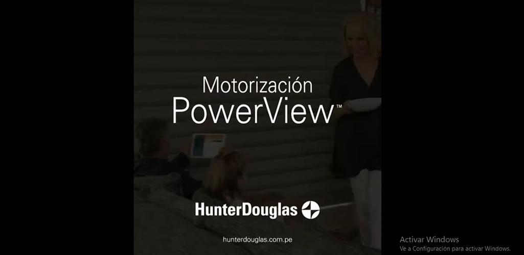 PowerView de Hunter Douglas
