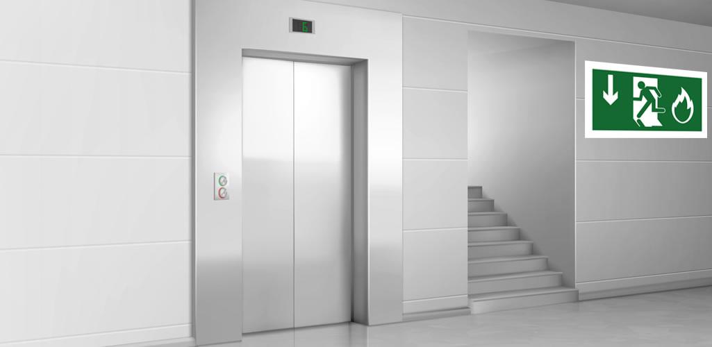 Laminaire: Presurización en escaleras