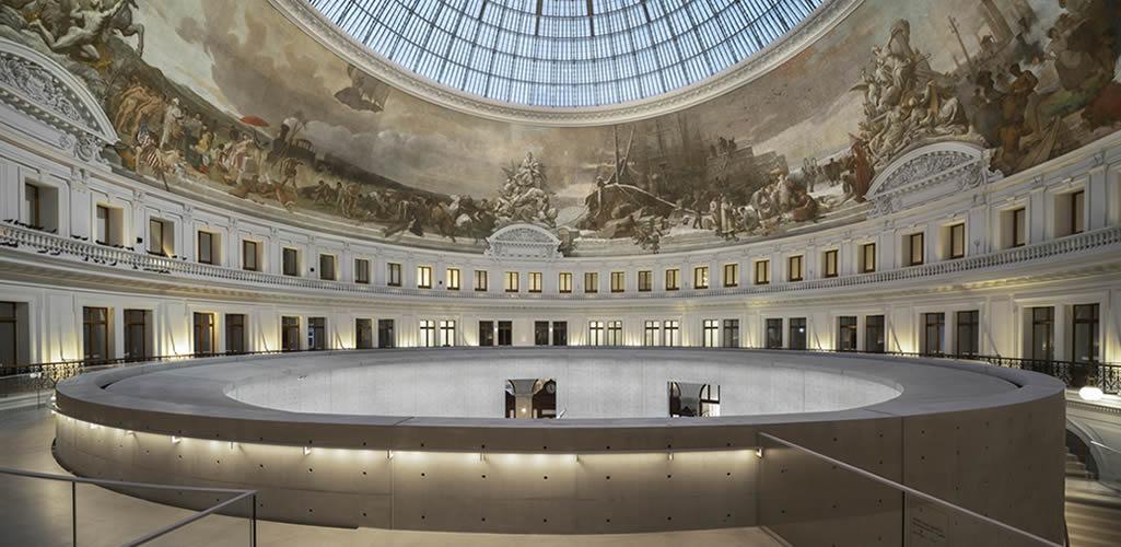 Arquitectura dentro de la arquitectura: Tadao Ando transforma la Bolsa de Comercio de París