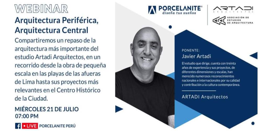 """""""Arquitectura Periférica, Arquitectura Central"""" es la Charla Gratuita que ofrecerá Porcelanite con reconocidos arquitectos"""