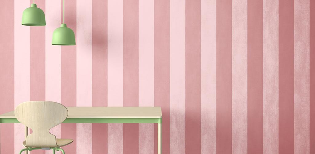 Sigue la tendencia más llamativa del 2021: paredes bicolor