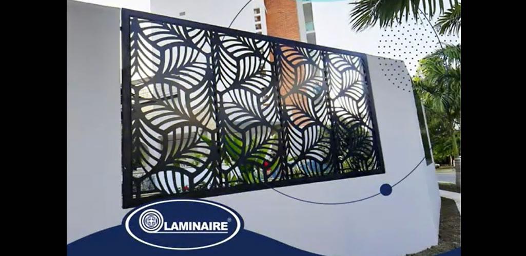 Paneles arquitectónicos calados - Laminaire