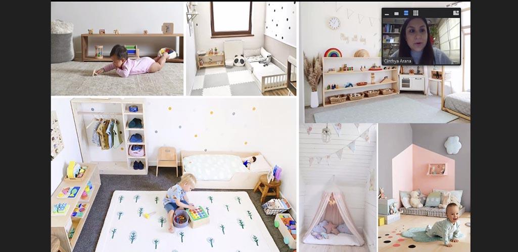 """Dossier presentó el curso online: """"Diseño de Espacios infantiles"""""""