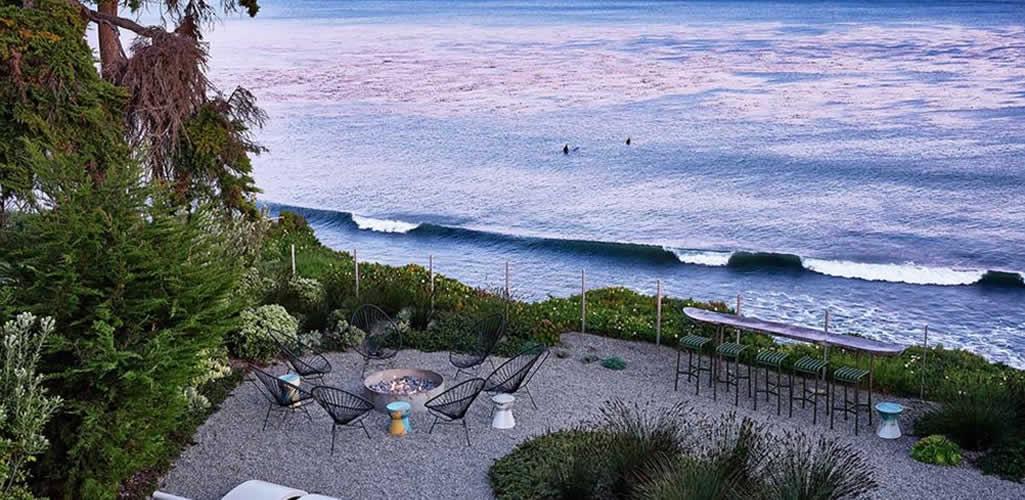Una casa en la playa para amantes del surf