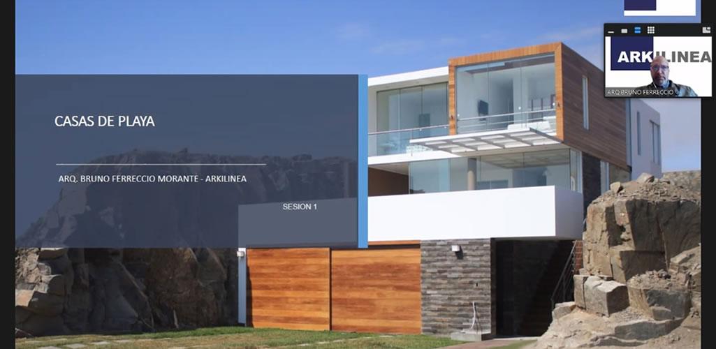 """Dossier presentó curso online: """"Diseño y Remodelación de Casas de Playa"""""""