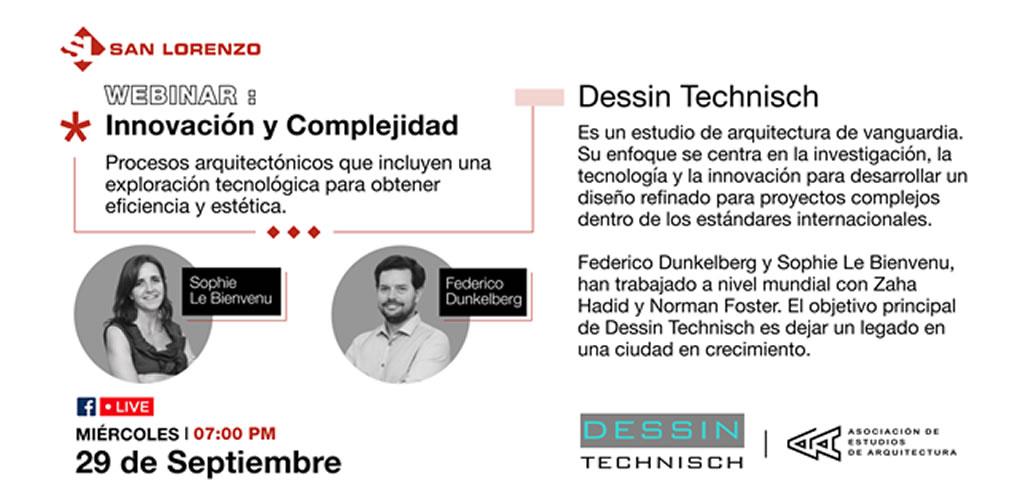 Webinars de reconocidos arquitectos en San Lorenzo