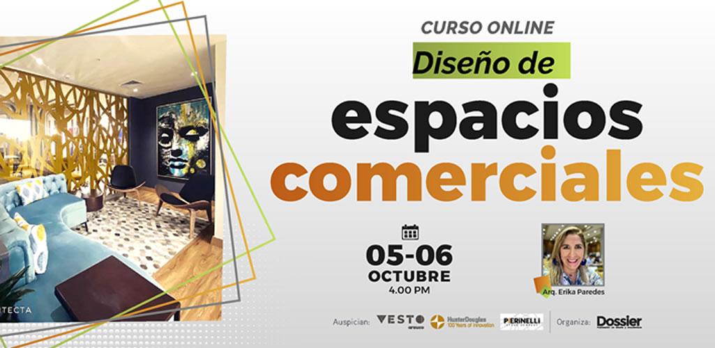 Dossier presenta curso online: Diseño de Espacios Comerciales