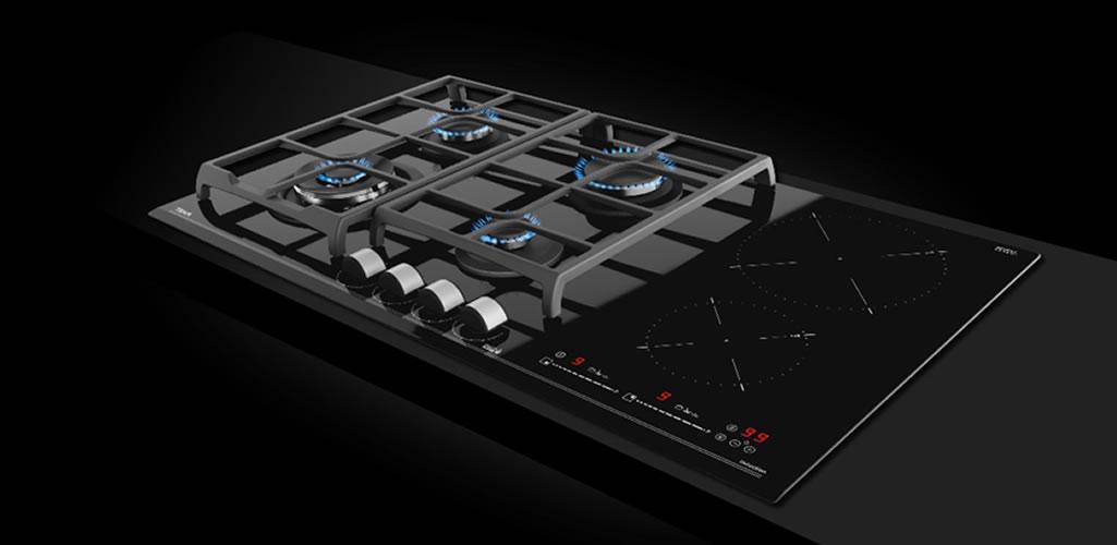 Teka presenta The Hybrid: una placa que une todas las ventajas de las dos tecnologías de cocción